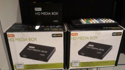 LECTEUR HD MEDIA BOX 1080P